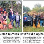Apfelpflückaktion - Quelle: Soester Anzeiger