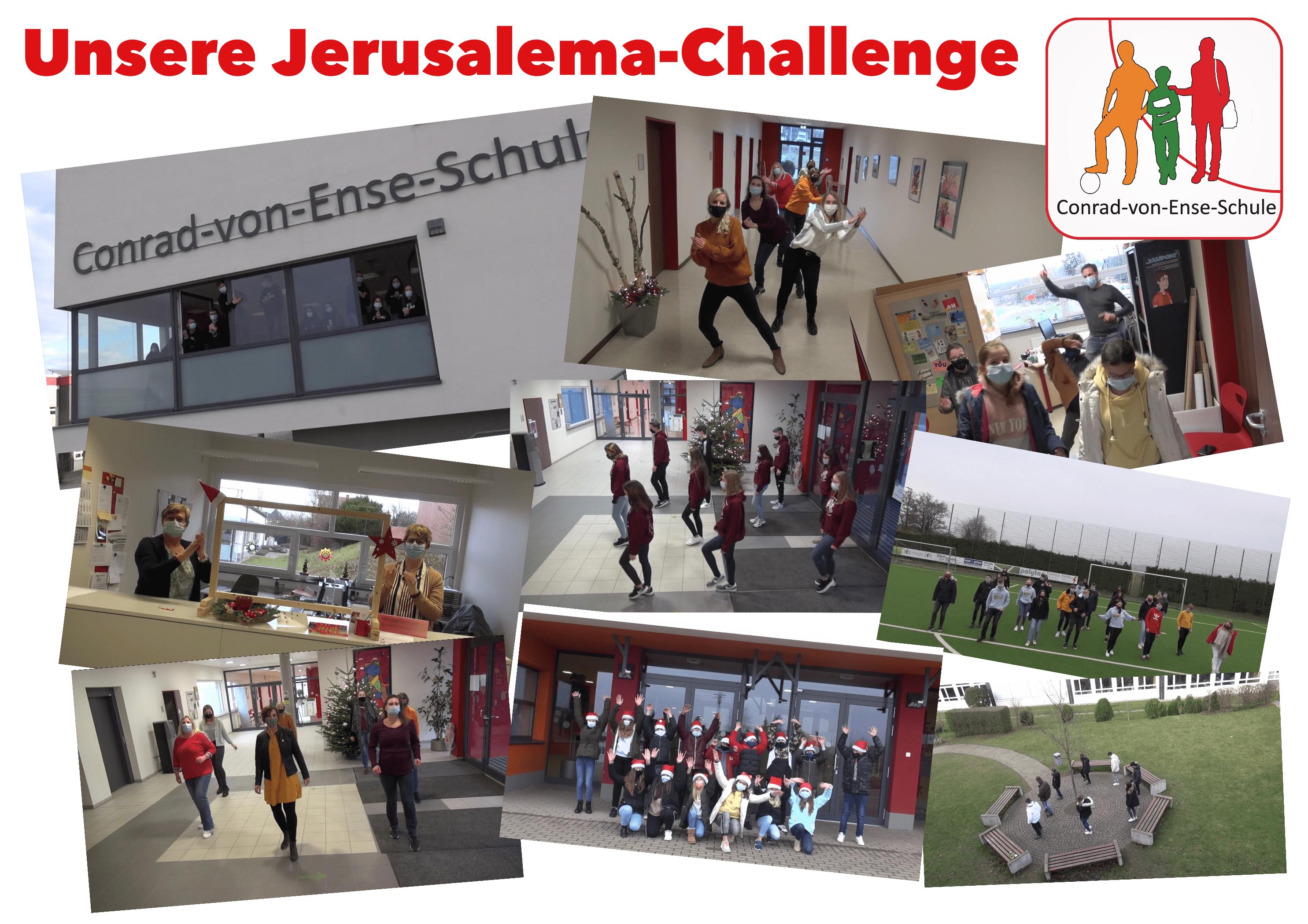 Jerusalema Tanz Challenge der Conrad-von-Ense-Schule